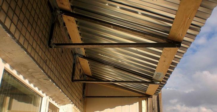 Новая крыша на выносном объекте
