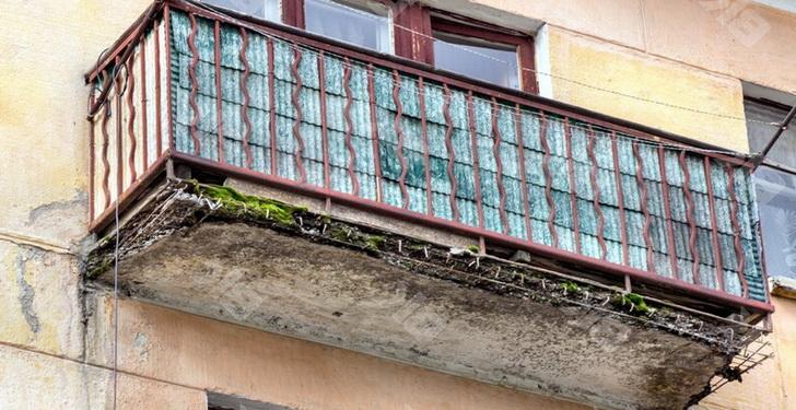 Ремонт аварийного балкона